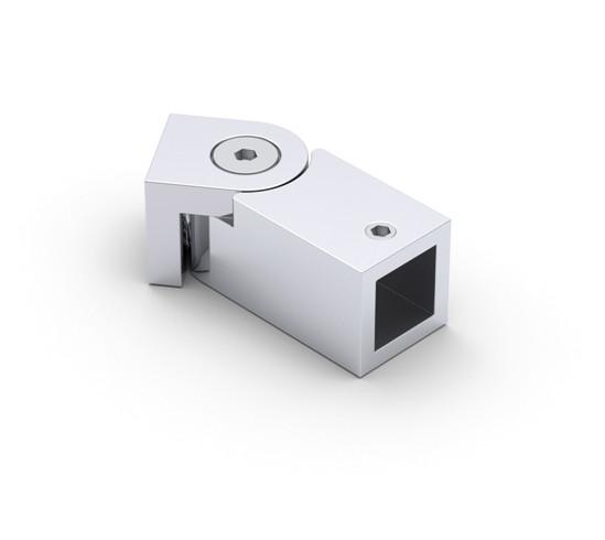 Wandaansluiting verstelbaar Bohle Basic square 12x12