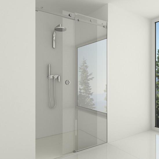 Premium Slide Sh Set Recess Shower Application Single Door Sliding