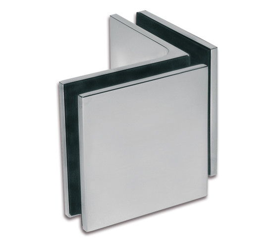 Winkelverbinder Milano Pur Glas-Glas 90°