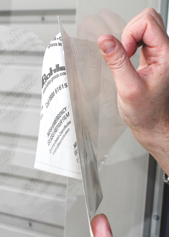 Bohle Emergency Repair Film Protection Films Glazing