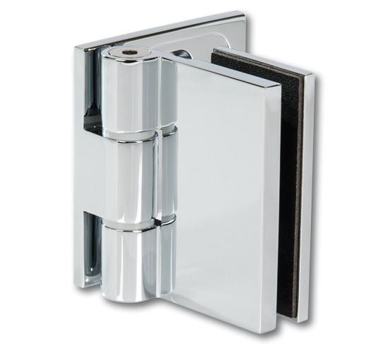 Duschtürband Wellness® Premium Glas-Wand 90° nach außen öffnend DIN rechts