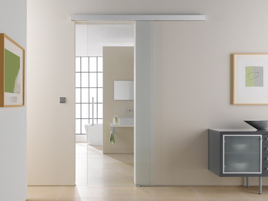 Portavant 80 automatic Set Wall Mounting double doors | Sliding Door on