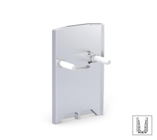 VetroMount® Ändlock för jordmånsprofil U