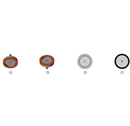 Schleifscheiben für Bohle SL4328A / SL4328M