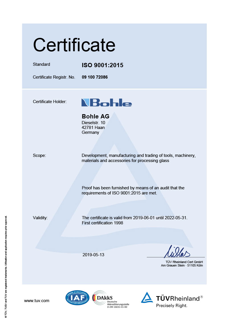 About us | Company | Bohle Ltd