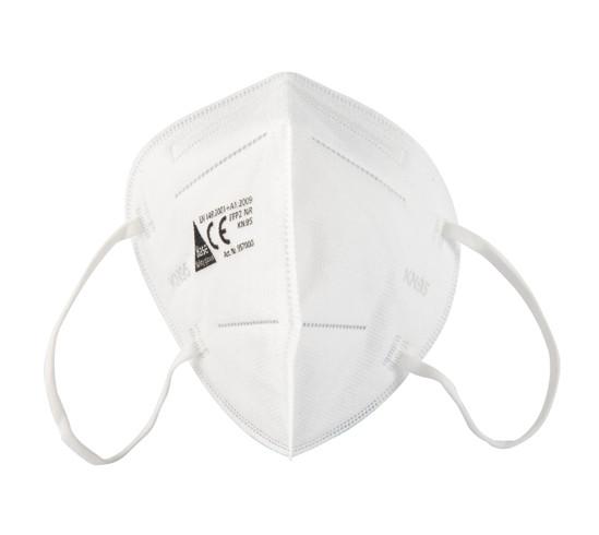 Einweg-Atemschutzmaske FFP2 NR ohne Ausatmungsventil