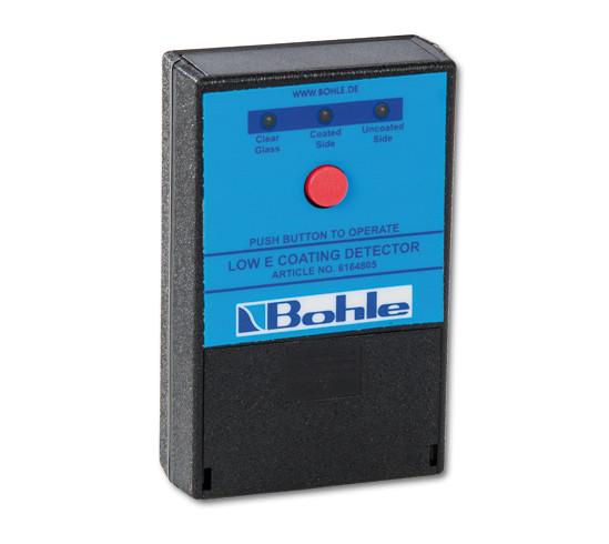 """Detector voor het herkennen van """"LOW-E"""" coatings"""
