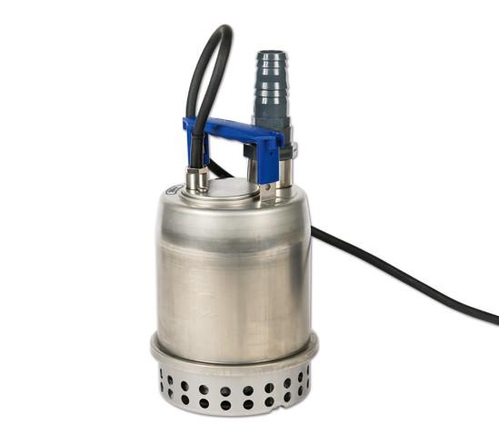 Dränkbar pump för maskintankar