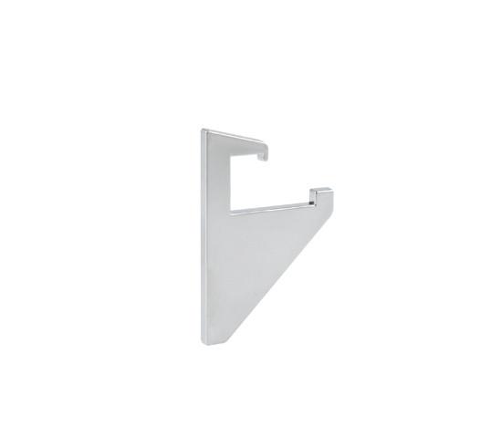 Conjunto de tapas para Soporte para estante de vidrio Perfil 8 mm vidrio