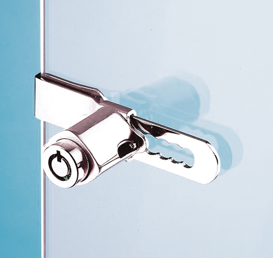 Clip On Security Lock Saveker Sliding Glass Tracking