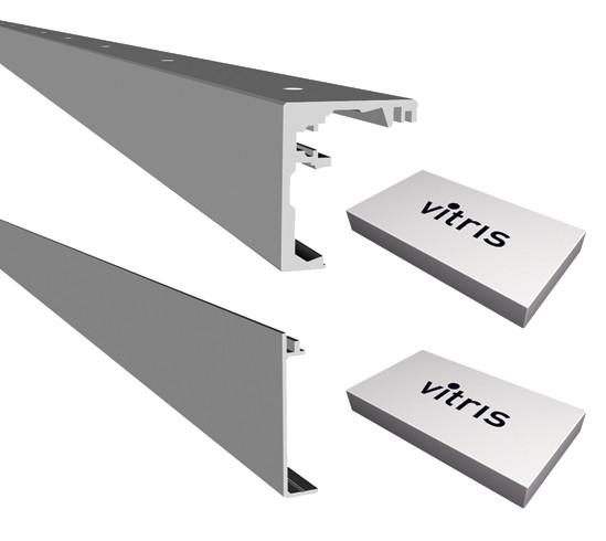 Portavant 60 Set Deckenmontage mit Festverglasung 2-flügelig