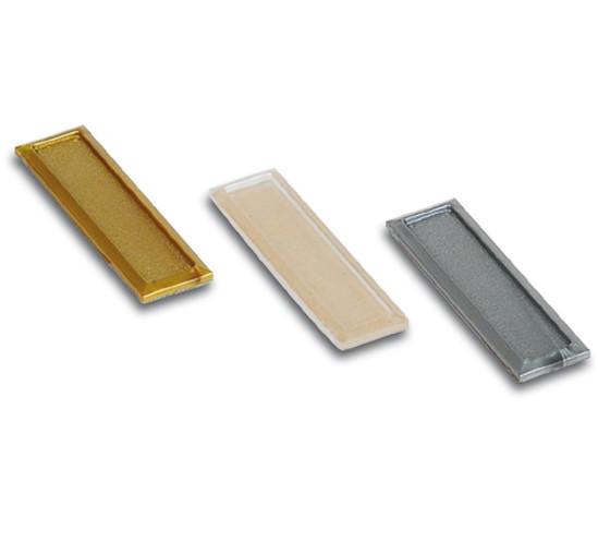 Dörrhandtag kantig självhäftande 70 x 19 x 3 mm