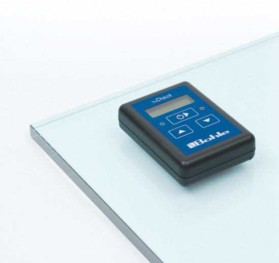 Messgerät Bohle TinCheck® zur Erkennung der Zinnbadseite