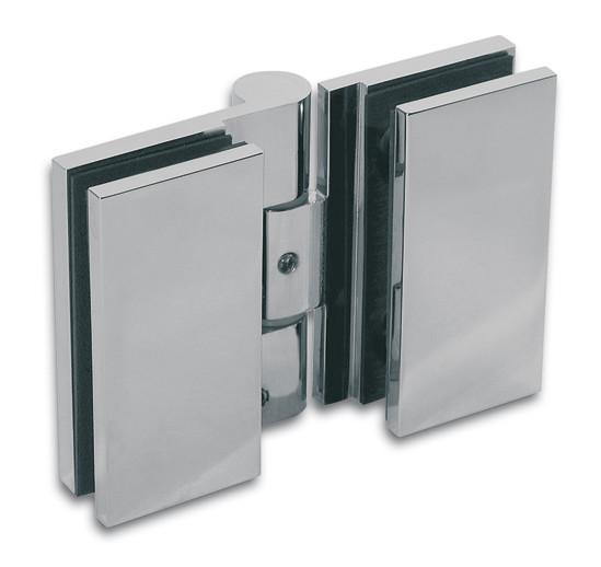 Duschtürband Wellness® Premium Glas-Glas 180° nach innen öffnend DIN links