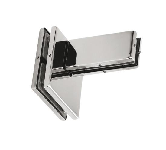 raccord de verre avec renfort unilat ral pt81 ferrures et serrures pour constructions tout en. Black Bedroom Furniture Sets. Home Design Ideas