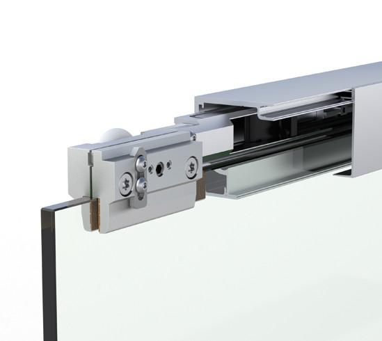 Bohle MasterTrack® ST Recess application single door