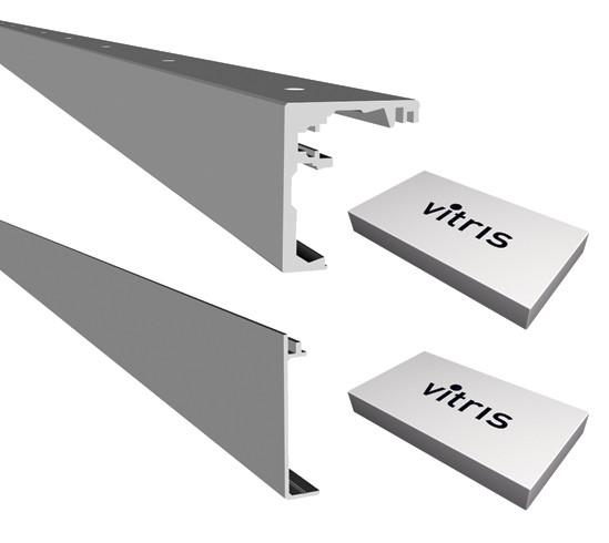 Portavant 60 Set Deckenmontage 2-flügelig